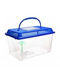 Черепашник с пластиковой крышкой 16*9,5*12 см