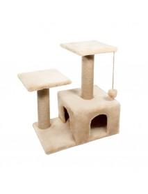 Игровой комплекс для кошек двухуровневый