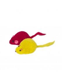 Игрушка для кошек Мышь цветная 45-50 мм