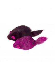 Игрушка для кошек Мышь цветная 70-75 мм