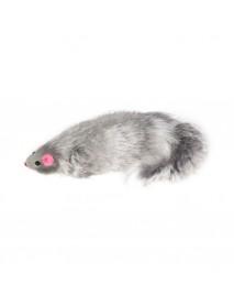 Игрушка для кошек Мышь серая 130-140 мм