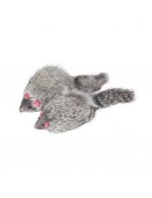 Игрушка для кошек Мышь серая 90-100 мм
