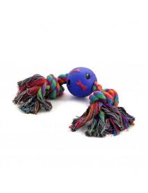 Игрушка для собак Веревка 2 узла и мяч