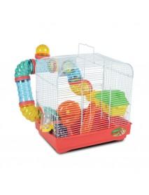 Клетка для мелких животных с переходами эмаль 330*230*315 мм