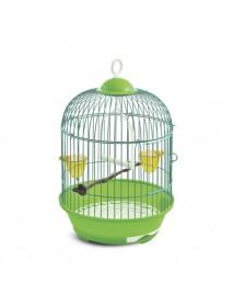 Клетка для птиц круглая эмаль 230*375 мм