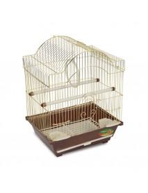 Клетка для птиц золото 300*230*390 мм