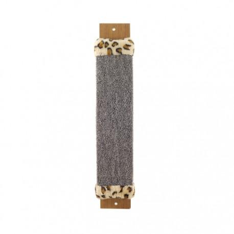 Когтеточка из ковролина №1 с оторочкой из меха 100*30*530 мм