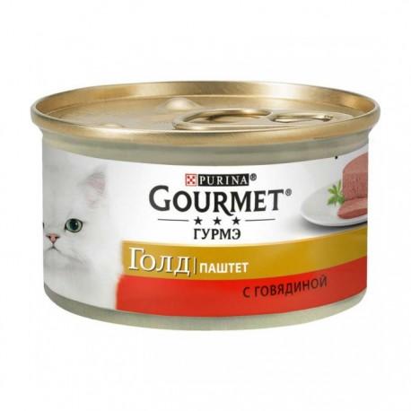 Консервы Gourmet Gold Паштет с говядиной