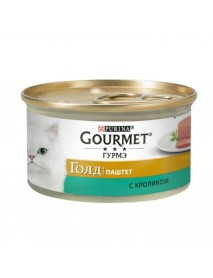 Консервы Gourmet Gold Паштет с кроликом