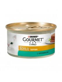 Консервы Gourmet Gold Террин с кроликом