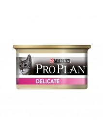 Консервы Pro Plan Delicate для взрослых кошек с чувствительным пищеварением паштет с индейкой
