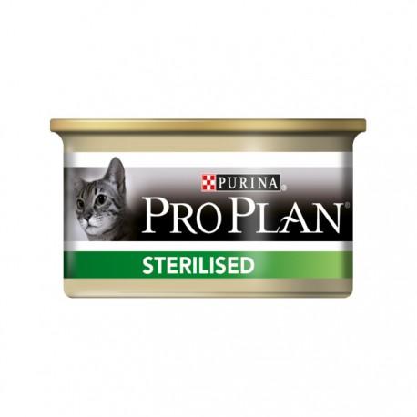 Консервы Pro Plan Sterilised для стерилизованных кошек паштет с тунцом