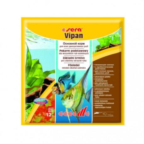 Корм Sera VIPAN для рыб основной в хлопьях