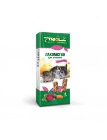 Лакомство Тriol Standard для шиншилл с овощами