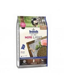 Сухой корм Bosch Mini Light низкокалорийный для мелких пород