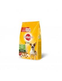 Сухой корм Pedigree для взрослых собак мелких пород с говядиной