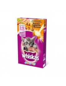 Сухой корм Whiskas Kitten Вкусные подушечки для котят