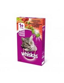 Сухой корм Whiskas Вкусные подушечки с говядиной ягнёнком и кроликом