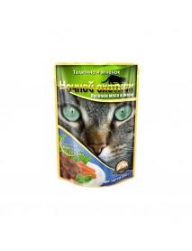 Влажный корм Ночной охотник для кошек Телятина и ягненок
