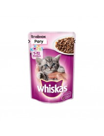 Влажный корм Whiskas для котят рагу с ягненком
