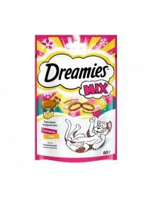 Лакомство Dreamies Mix с говядиной и сыром