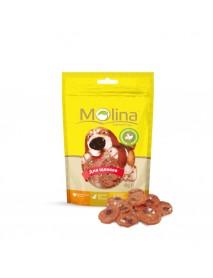 Лакомство Molina Куриные медальоны с сыром и печенью для щенков