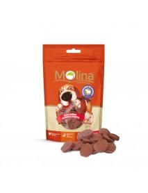 Лакомство Molina Медальоны из ягненка для собак мелких пород