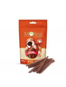 Лакомство Molina Нарезка из говядины для собак мелких пород