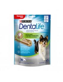 Лакомство Purina DentaLife для собак средних пород 115 г