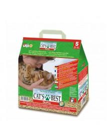 Наполнитель Cat's Best Original 5л*2,1кг древесный комкующийся