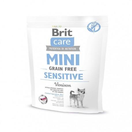 Сухой корм Brit Care Mini GF Sensitive беззерновой для собак с чувствительным пищеварением