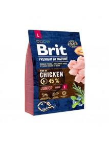 Сухой корм Brit Premium by Nature Junior L для молодых собак крупных пород