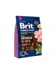 Сухой корм Brit Premium by Nature Junior S для молодых собак мелких пород
