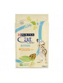 Сухой корм для котят Purina Cat Chow домашняя птица