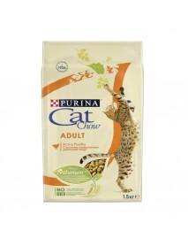 Сухой корм для взрослых кошек Purina Cat Chow домашняя птица
