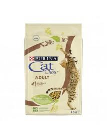 Сухой корм для взрослых кошек Purina Cat Chow утка