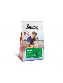 Сухой корм Karmy mini adult для взрослых собак мелких пород старше 1 года Телятина