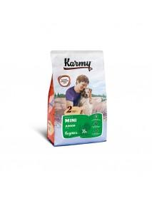 Сухой корм Karmy mini junior для щенков мелких пород в возрасте до 1 года Индейка