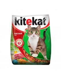 Сухой корм Kitekat для кошек Мясной пир