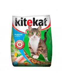 Сухой корм Kitekat для кошек Рыбное ассорти