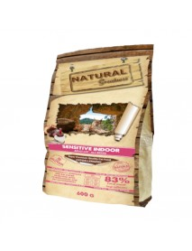 Сухой корм Natural Greatness Sensitive Indoor для кошек