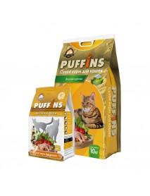 Сухой корм Puffins для кошек Вкусная курочка