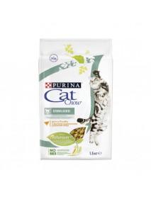 Сухой корм Purina Cat Chow для стерилизованных кошек и кастрированных котов домашняя птица