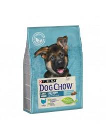 Сухой корм Purina Dog Chow для щенков крупных пород индейка