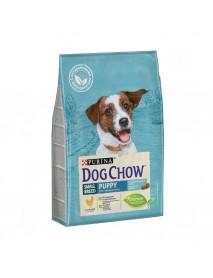 Сухой корм Purina Dog Chow для щенков мелких пород курица