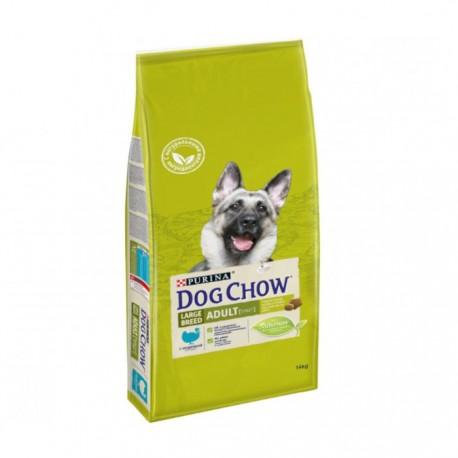 Сухой корм Purina Dog Chow для взрослых собак крупных пород индейка