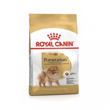Сухой корм Royal Canin Pomeranian Adult для собак породы померанский шпиц