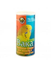 Вака Люкс корм для мелких и средних попугаев банка