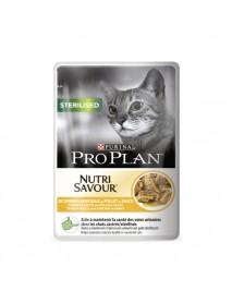 Влажный корм Nutrisavour Sterilised для стерилизованных кошек с курицей в соусе