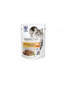 Влажный корм Perfect Fit Sensitive для кошек с чувствительным пищеварением